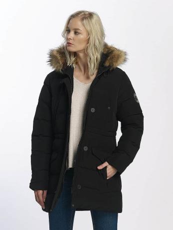 Brave Soul Frauen Winterjacke Winter in schwarz