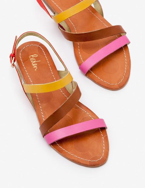 Bronwen Sandalen Pink Damen Boden, Pink