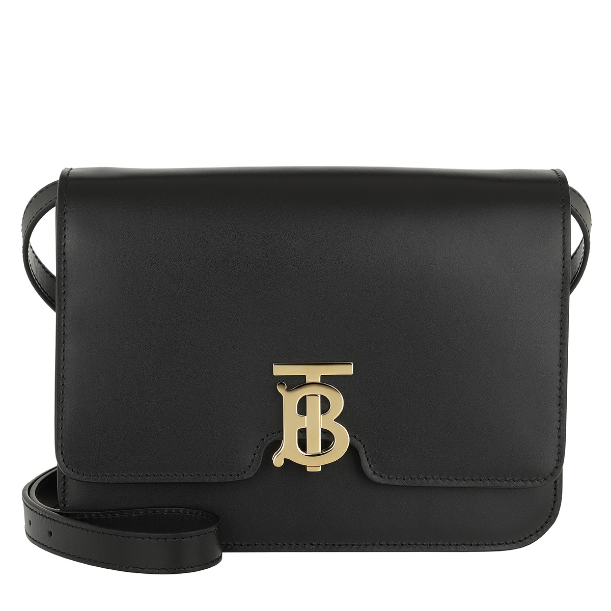 Burberry Umhängetasche - TB Medium Shoulder Bag Leather Black - in schwarz - für Damen