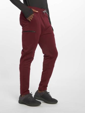 DEF Sports Männer Jogger Pants Rewop in rot