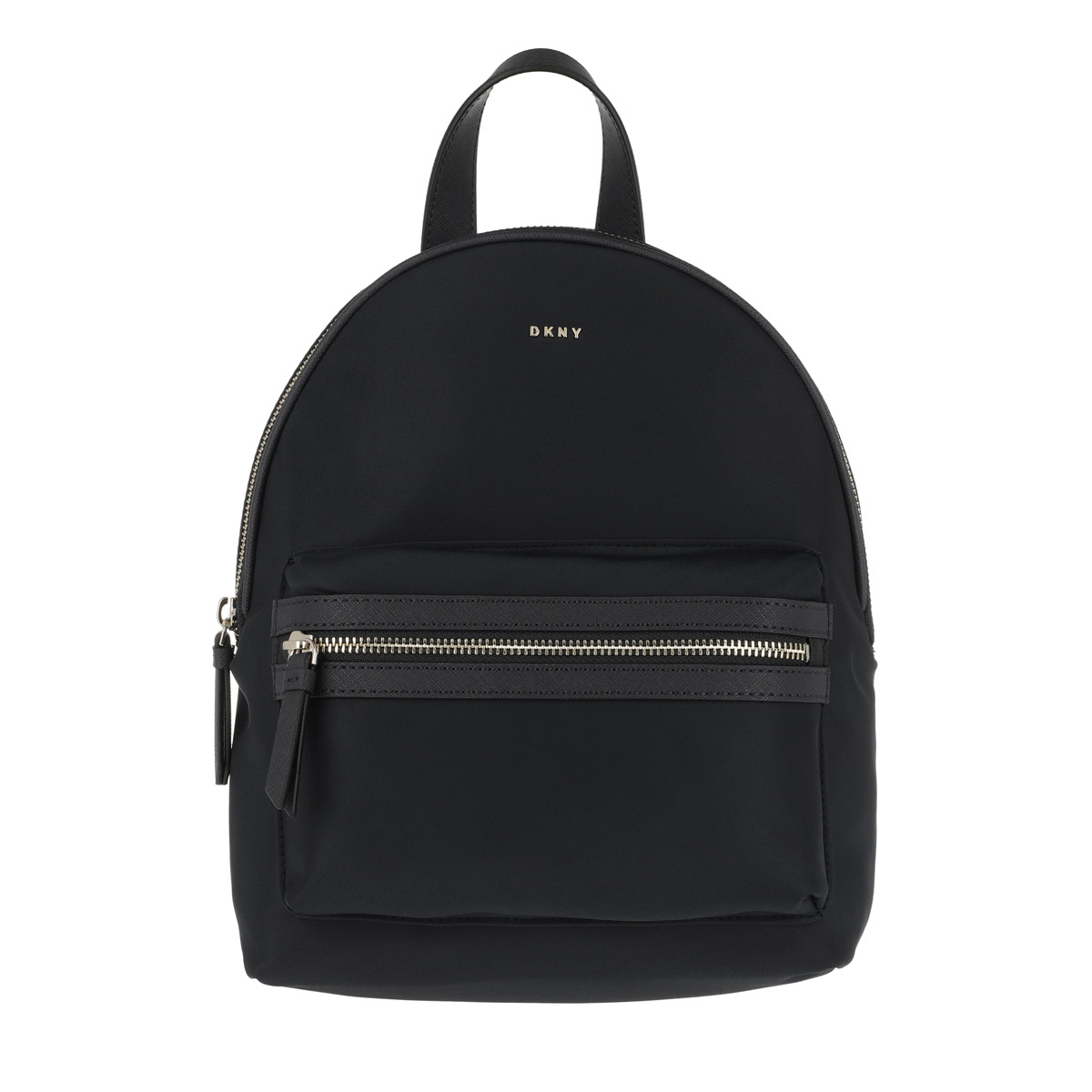 DKNY Rucksack - Casey Medium Backpack Black/Silver - in schwarz - für Damen