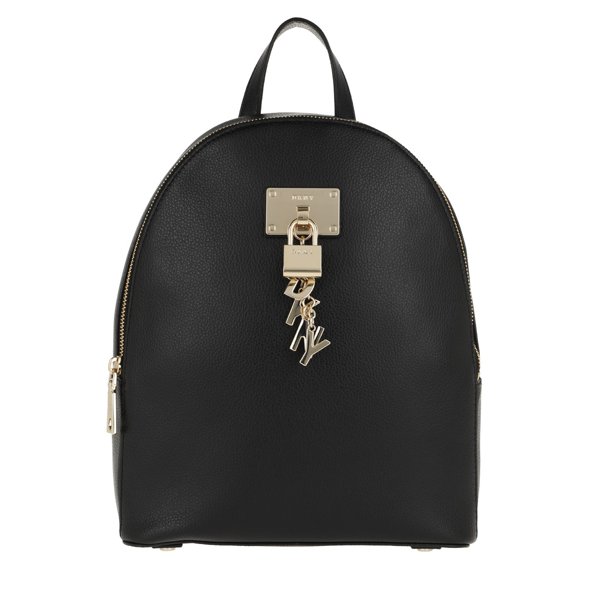DKNY Rucksack - Elissa MD Backpack Black/Gold - in schwarz - für Damen