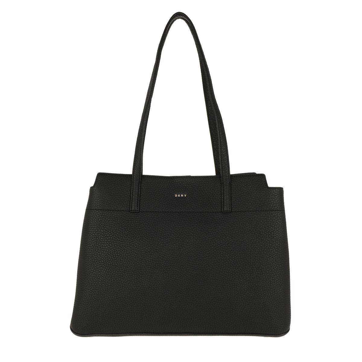 DKNY Tote - Bellah LG Tote Black/Gold - in schwarz - für Damen