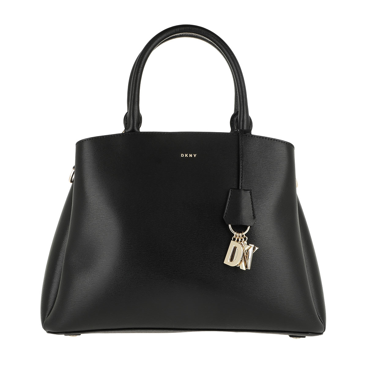 DKNY Tote - Paige Large Satchel Black/Gold - in schwarz - für Damen