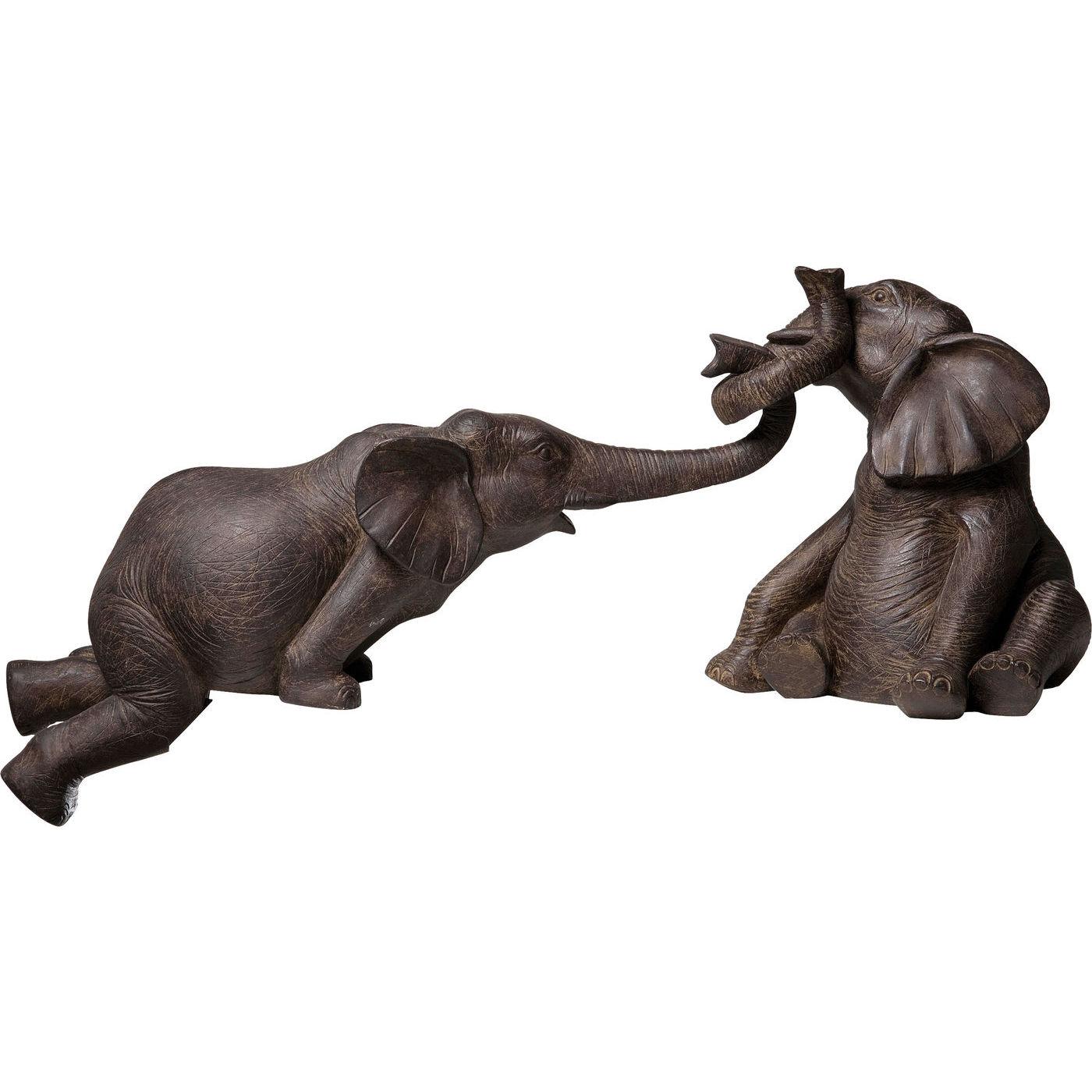 Deko Figur Elefant Zirkus 2-Set