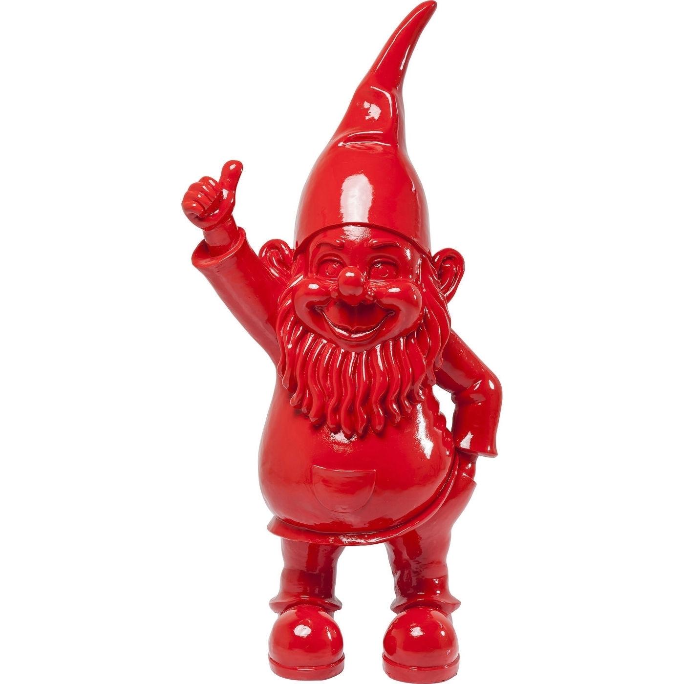 Deko Figur Zwerg rot 152cm