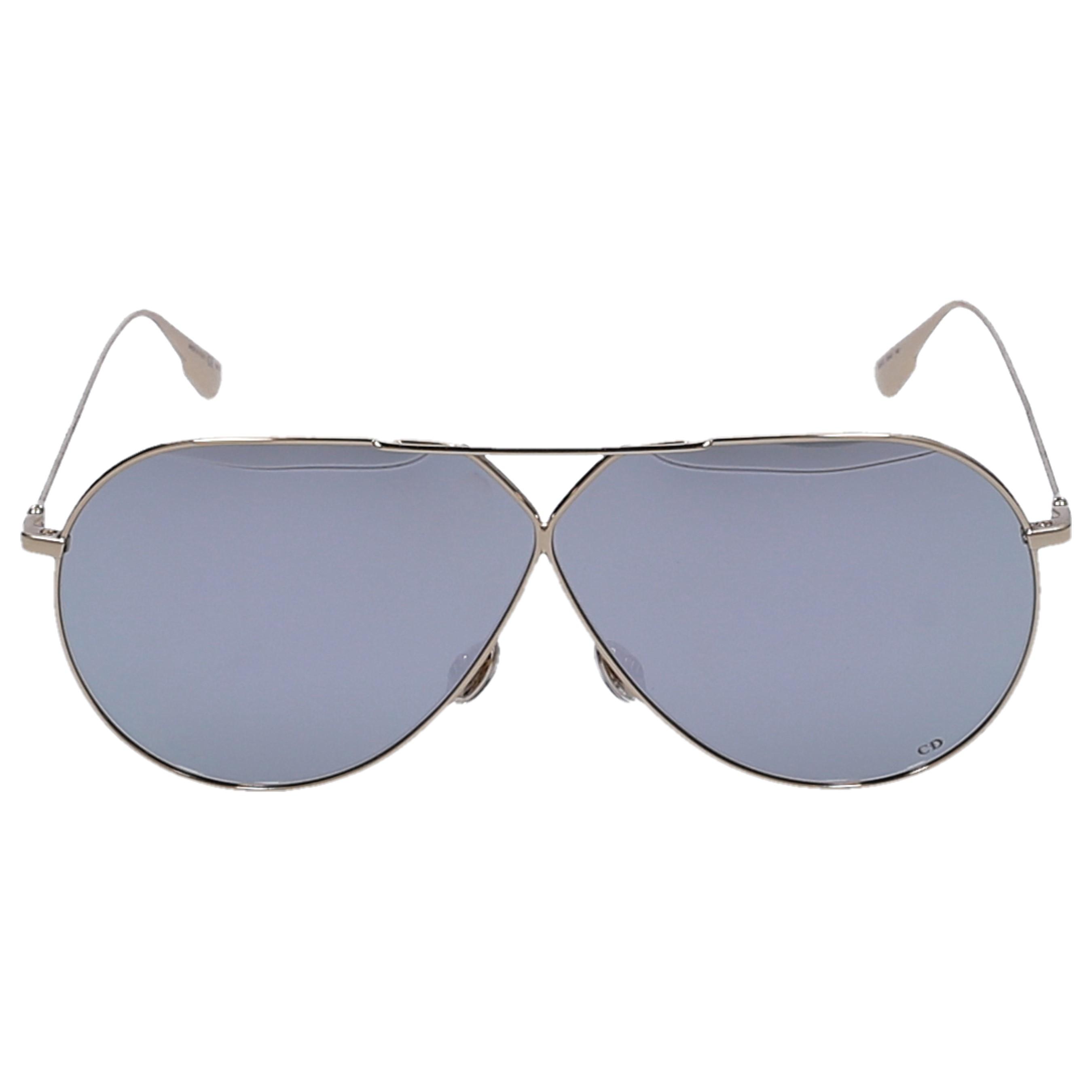Dior Sonnenbrille Aviator STEL3 5JCDC Metall gold
