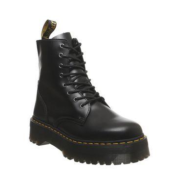 Dr. Martens Jadon 8 Eye Mens Boot BLACK,Schwarz