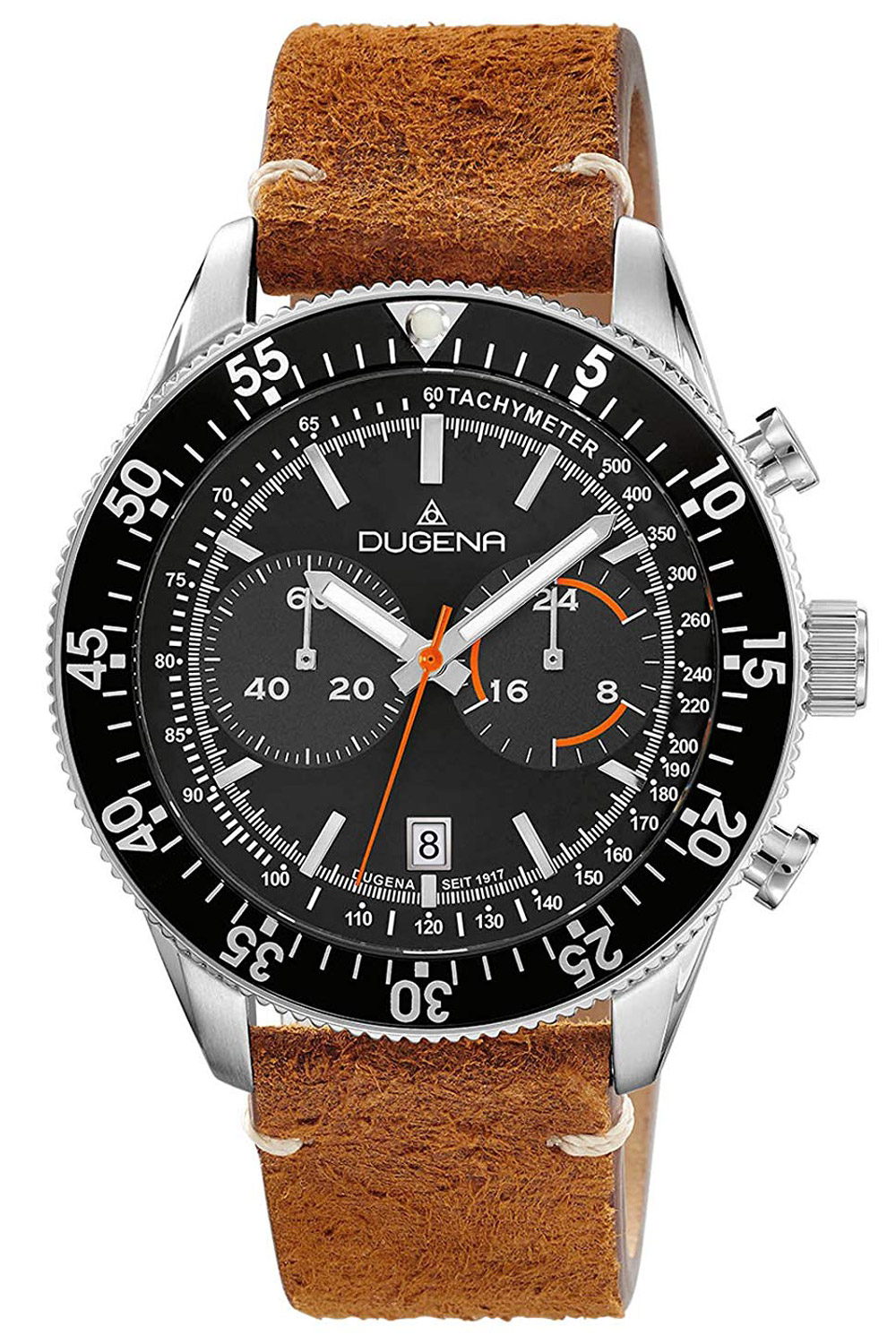 Dugena 4460886 Herrenuhr Chronograph Dakota