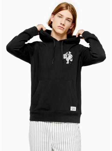 ELEMENT Sweatshirt mit Grafik-Print, schwarz, SCHWARZ