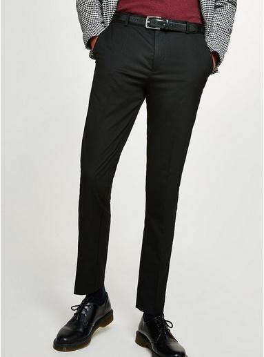 Enganliegende Hose, schwarz, SCHWARZ