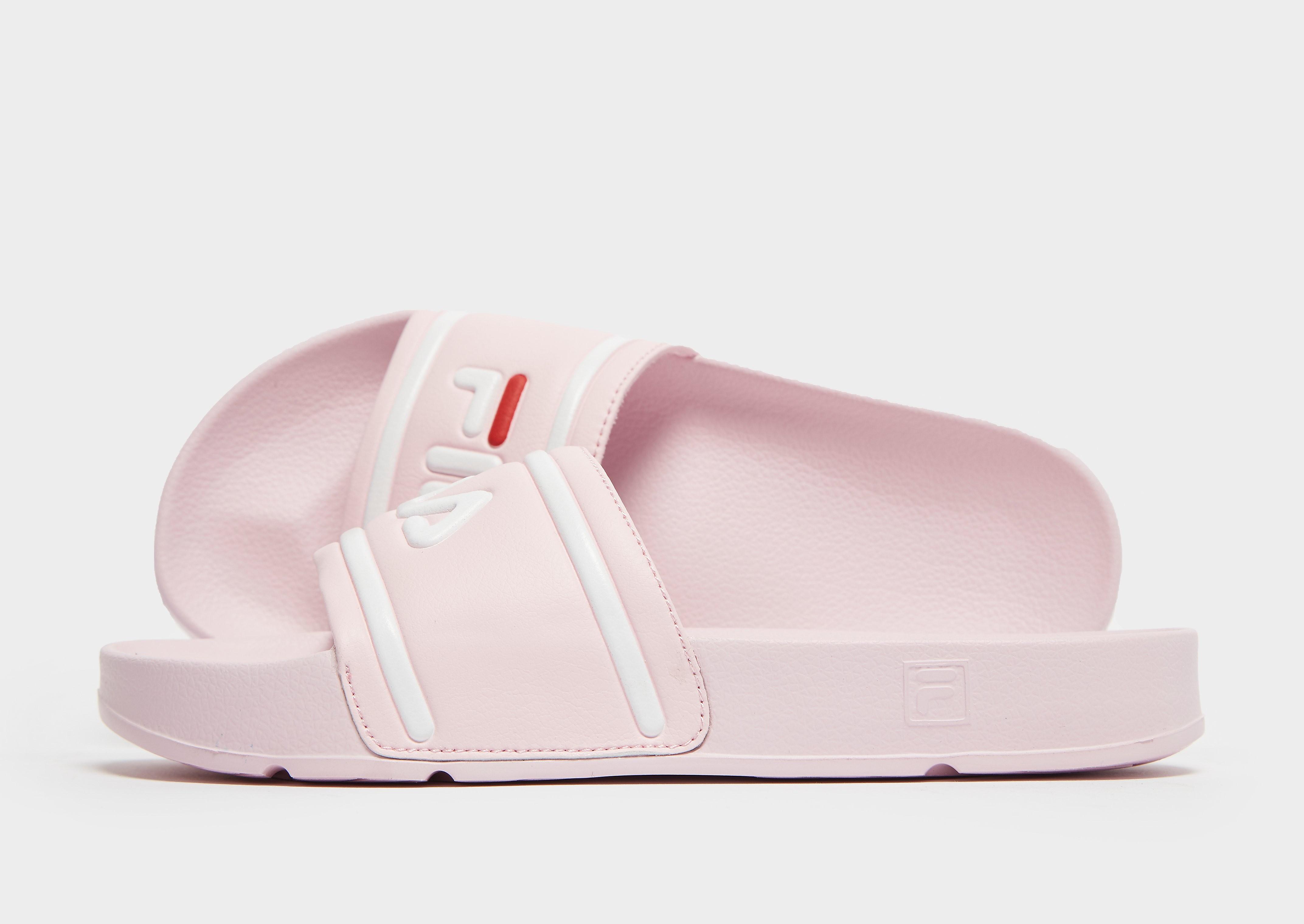 Fila Drifter Slides Damen - Pink - Womens, Pink
