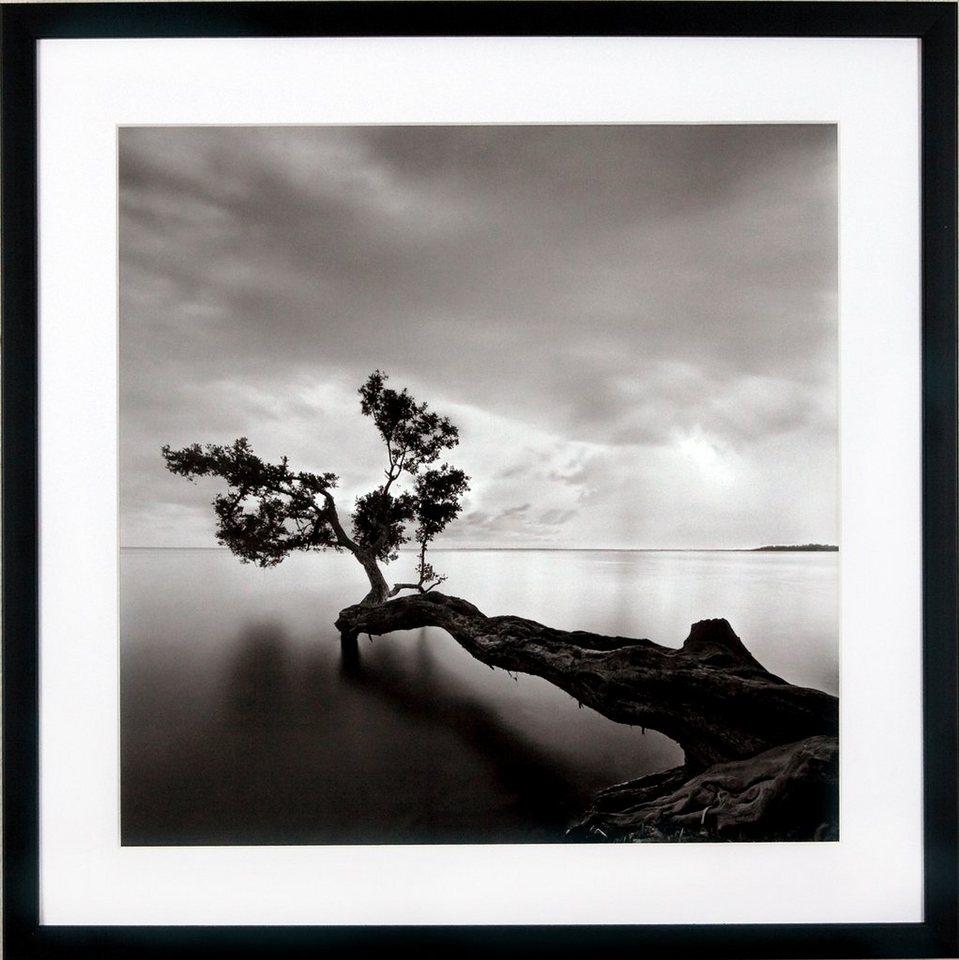 "G&C Kunstdruck ""Levy: Beach Motiv 4"", schwarz, 50x50cm"