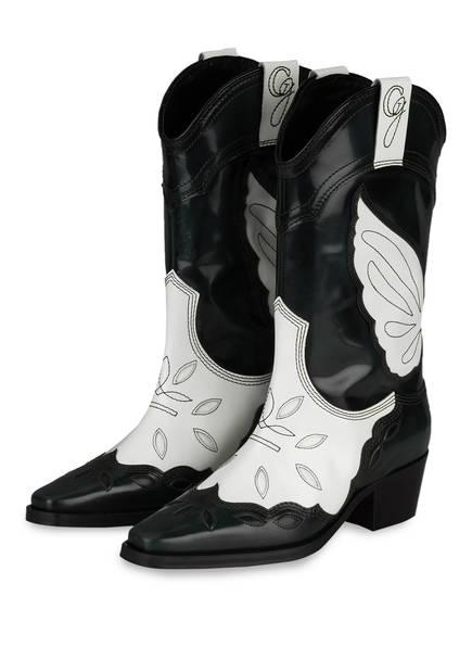 Ganni Boots weiss