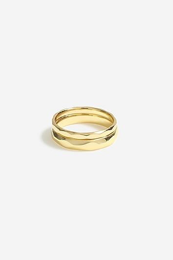 **Geätzte Ringe im 2er-Pack von House of Freedom - Gold