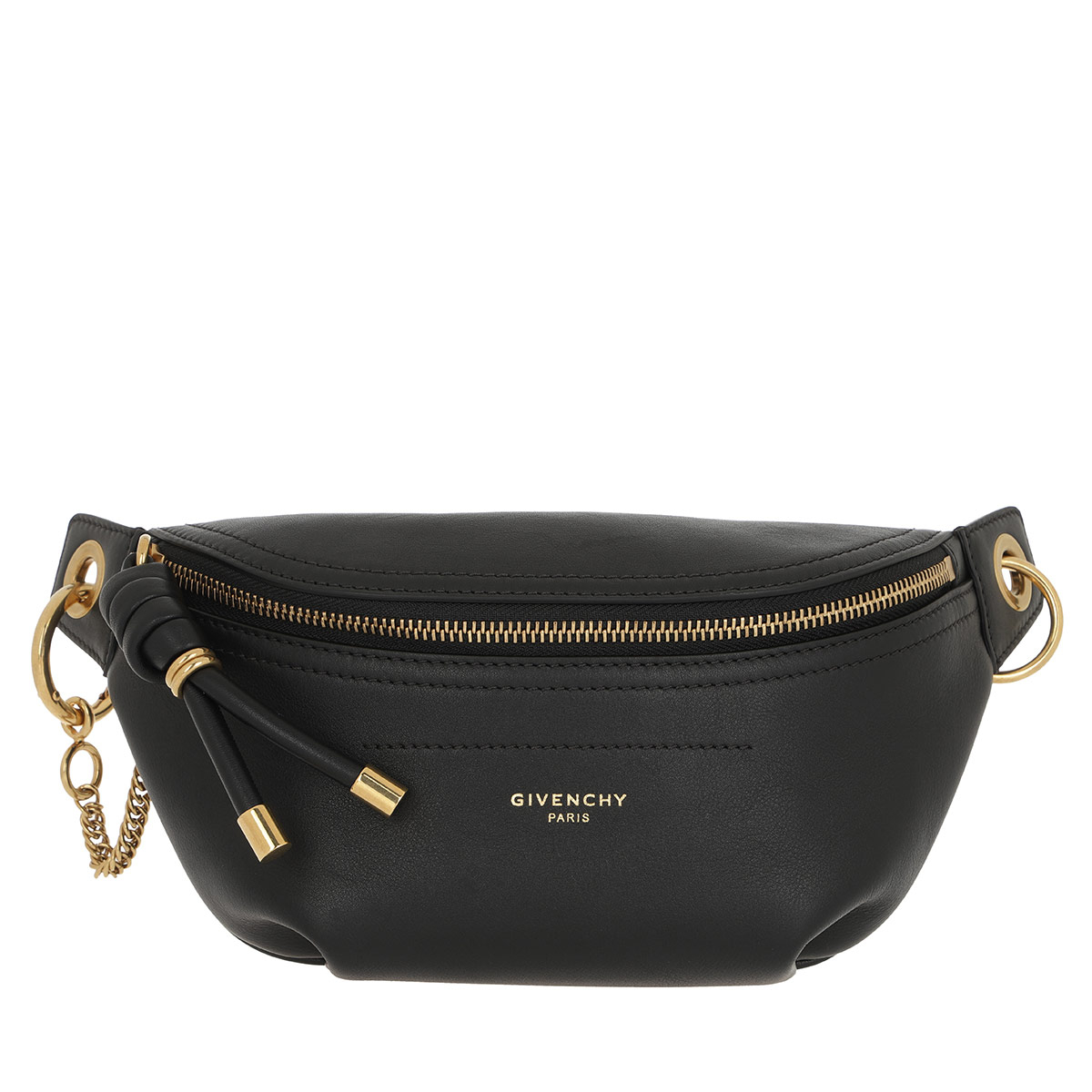 Givenchy Gürteltasche - Mini Belt Bag Leather Black - in schwarz - für Damen