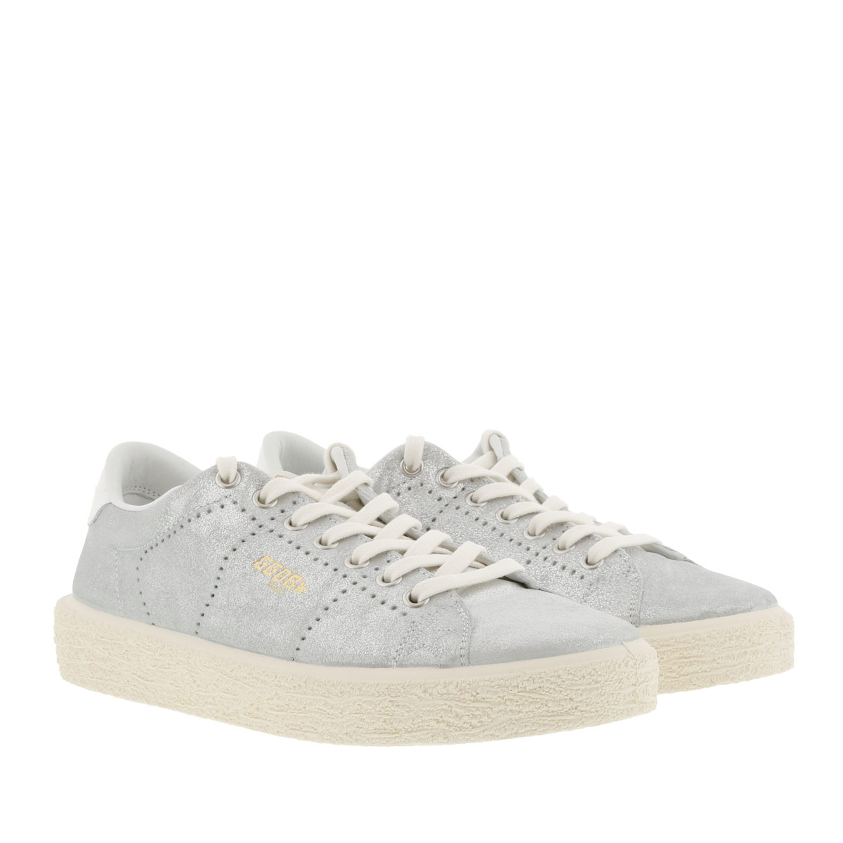 Golden Goose Sneakers - Tennis Sneaker Silver - in silber - für Damen