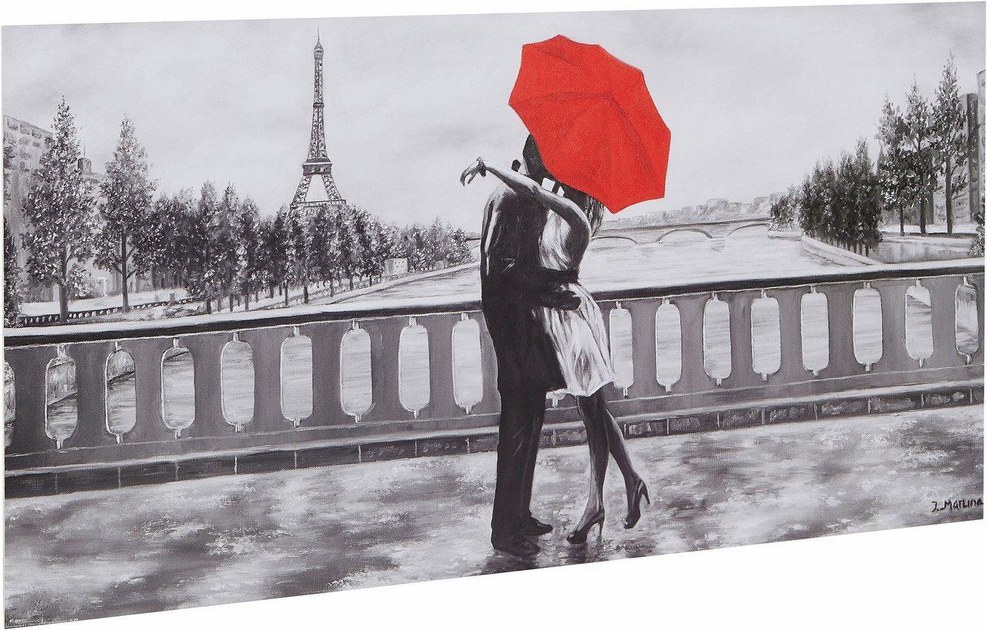"""Home affaire Kunstdruck """"Romantic"""", grau, 100x50cm"""