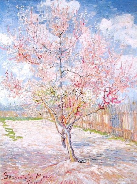 "Home affaire Kunstdruck ""V. van Gogh, Souvenir de Mauve"", mehrfarbig, 60x80cm"