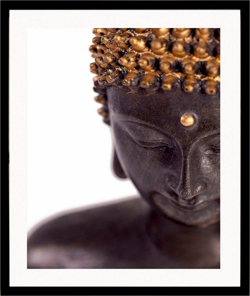 """Home affaire Kunstdruck , beige, 43x53cm, """"Buddha"""""""
