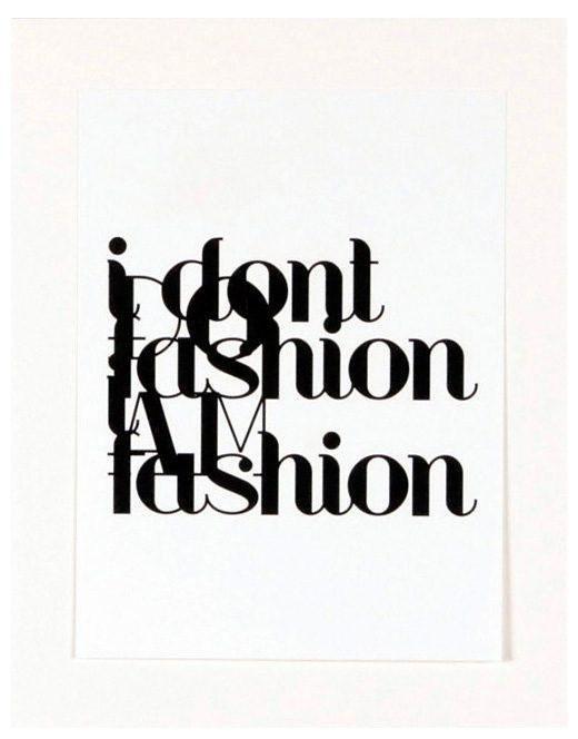 """Home affaire Kunstdruck , schwarz, 33x43cm, """"Fashion"""""""