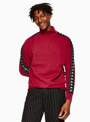 KAPPA Sweatshirt, rot, ROT