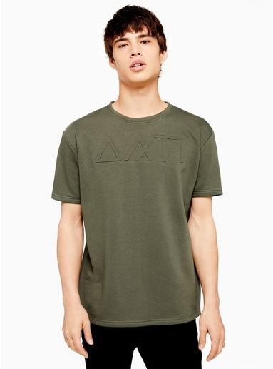 KHAKIANTIOCH Sweatshirt mit erhabenem Symbol-Print, KHAKI