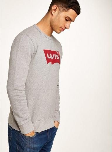 LEVI'S Sweatshirt, grau, GRAU