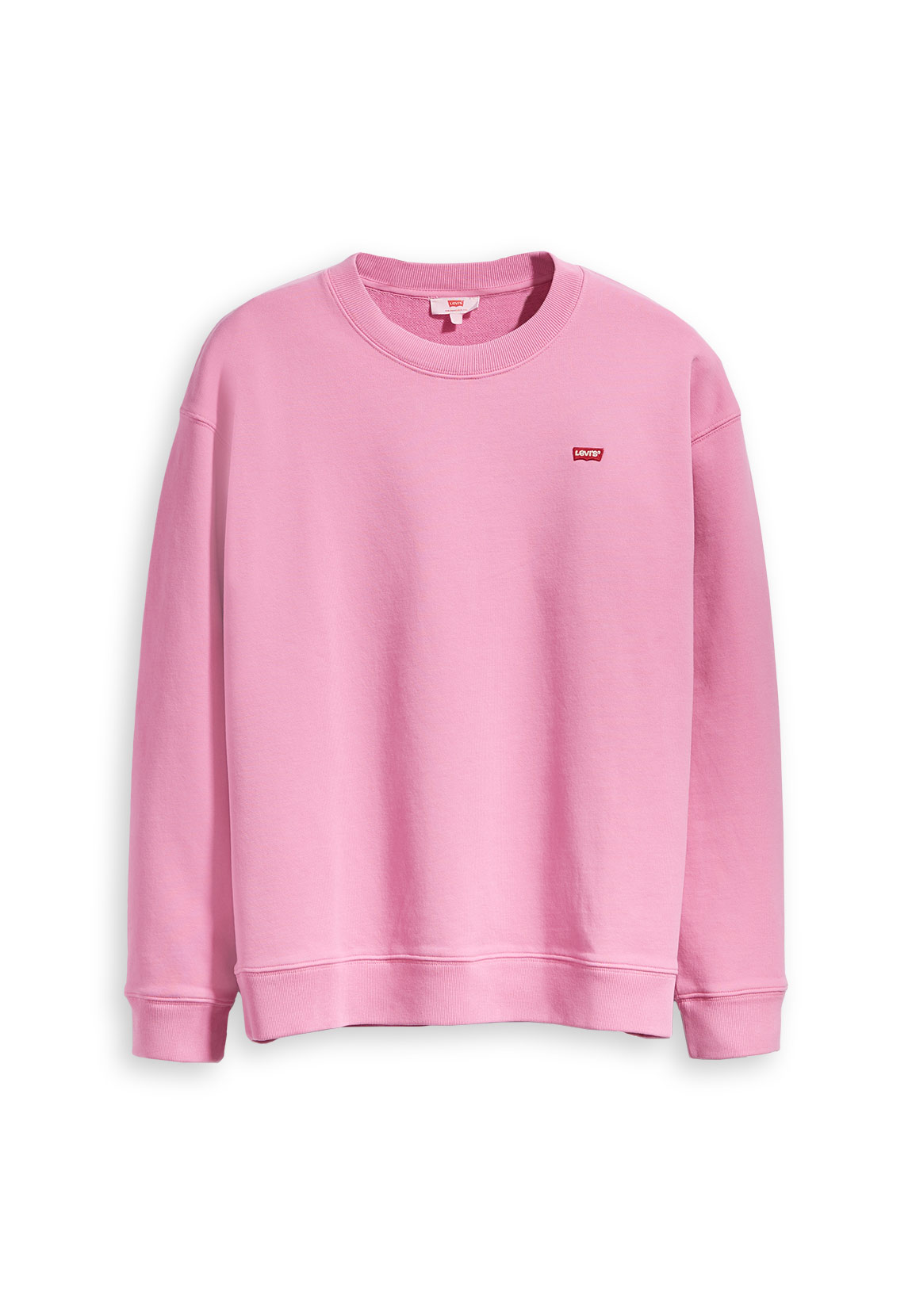 Levi's Sweater Damen OVERSIZED CREWNECK 56333-0001 Pink