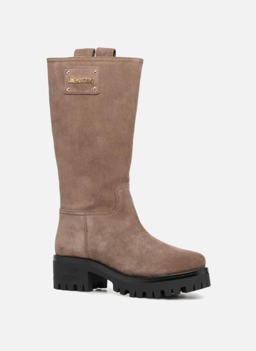 Love Moschino - New Urban Boot - Stiefel für Damen / beige