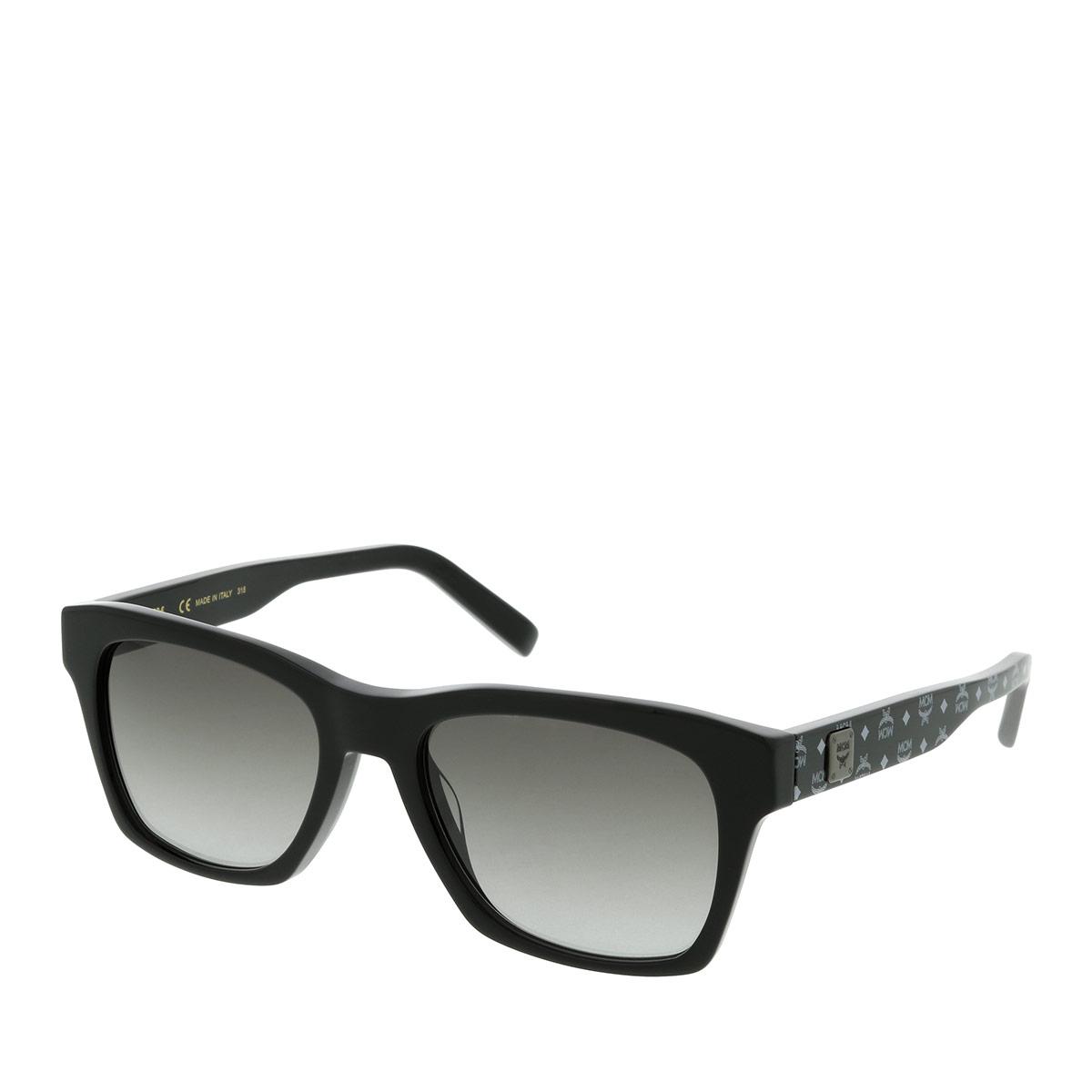 MCM Sonnenbrille - MCM663S Black/Black Visetos - in schwarz - für Damen