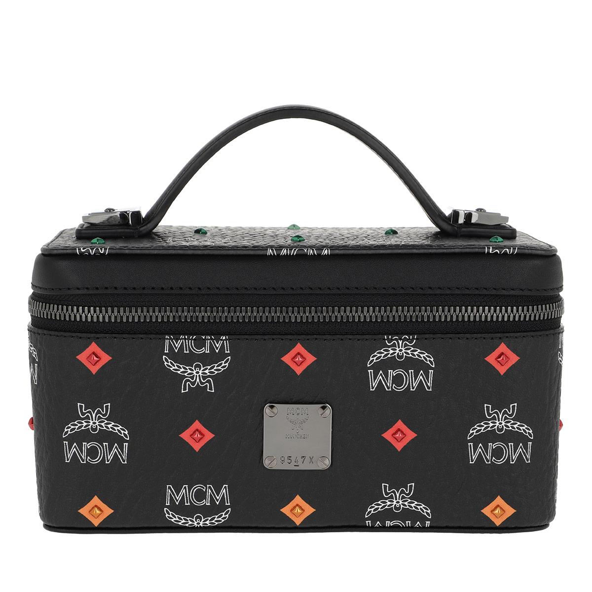 MCM Umhängetasche - Spektrum Stud Visetos Cosmetic Case Mini Black Spektrum - in schwarz - für Damen