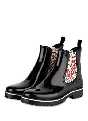 Marccain Gummi-Boots schwarz