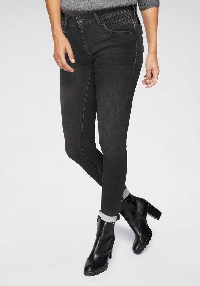 "Mavi Skinny-fit-Jeans ""ADRIANA"" aus besonderer Denimqualität"