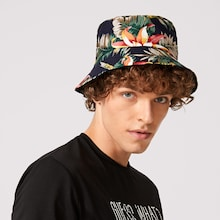 Men Floral Pattern Bucket Hat