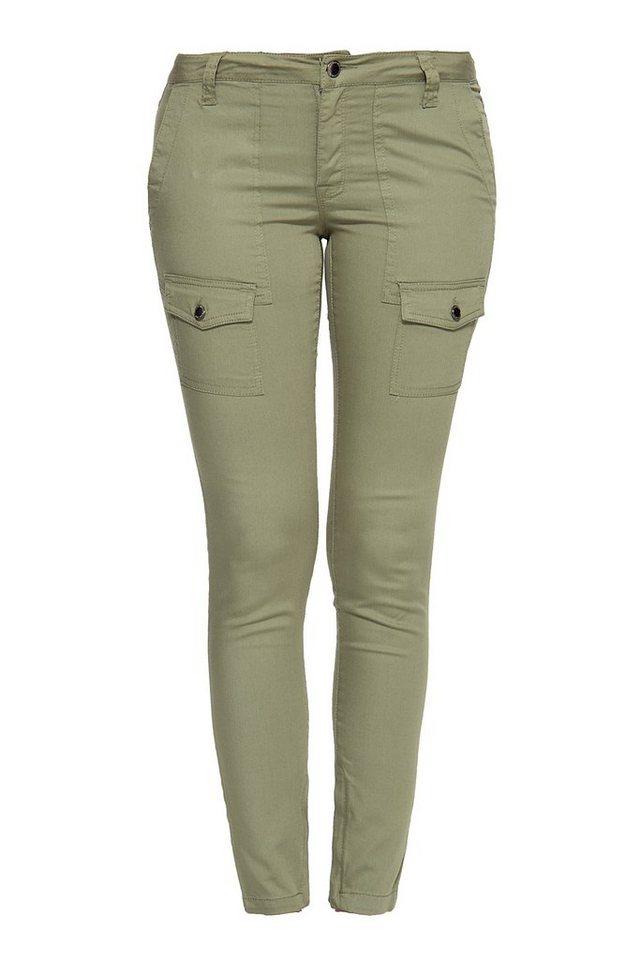 Mexx Stretch-Hose mit modischen Aufsatztaschen