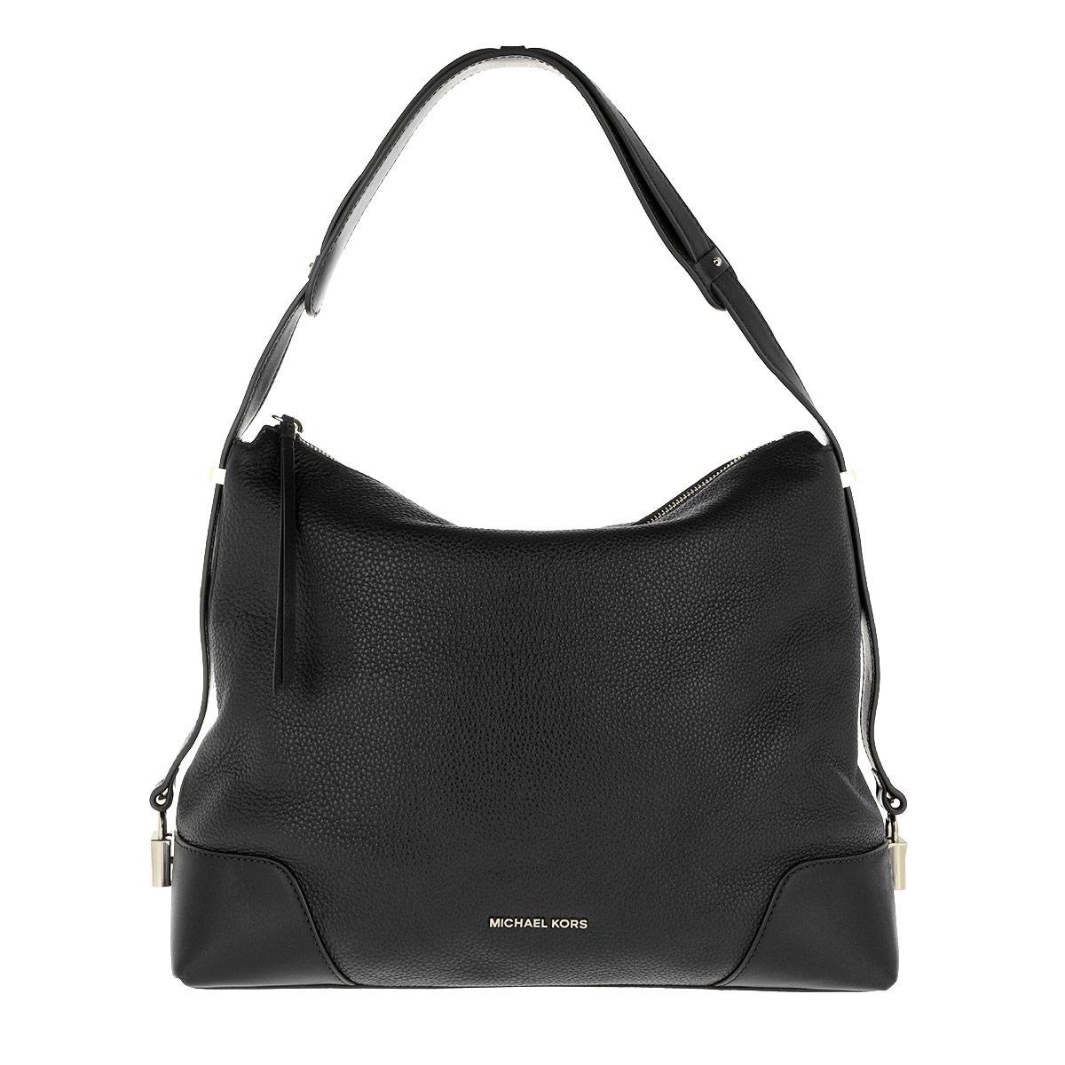 Michael Kors Hobo Bag - Crosby LG Shoulder Bag Black - in schwarz - für Damen