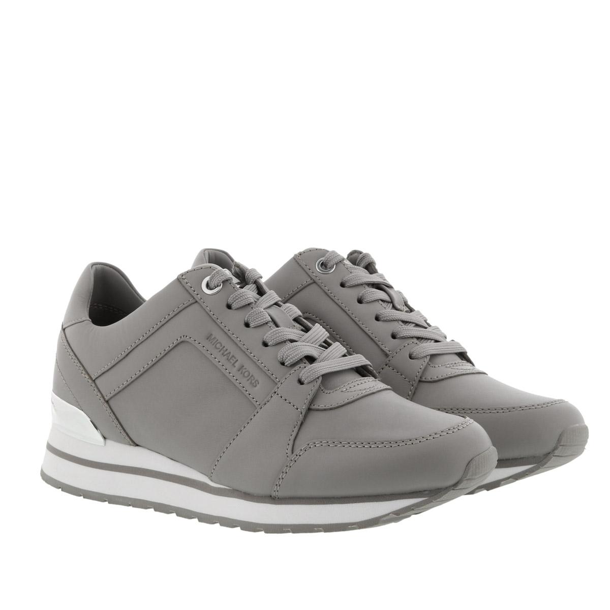 Michael Kors Sneakers - Billie Trainer Pearl Grey - in grau - für Damen