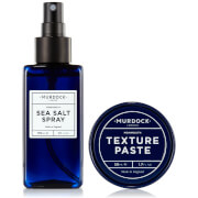 Murdock London Sea Salt Spray and Texture Paste Bundle
