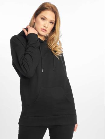 NA-KD Frauen Hoody Logo Oversized in schwarz