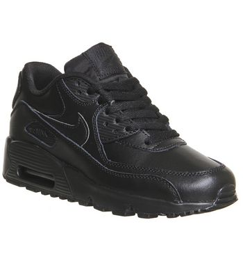 Nike Air Max 90 Gs BLACK,Schwarz,Weiß
