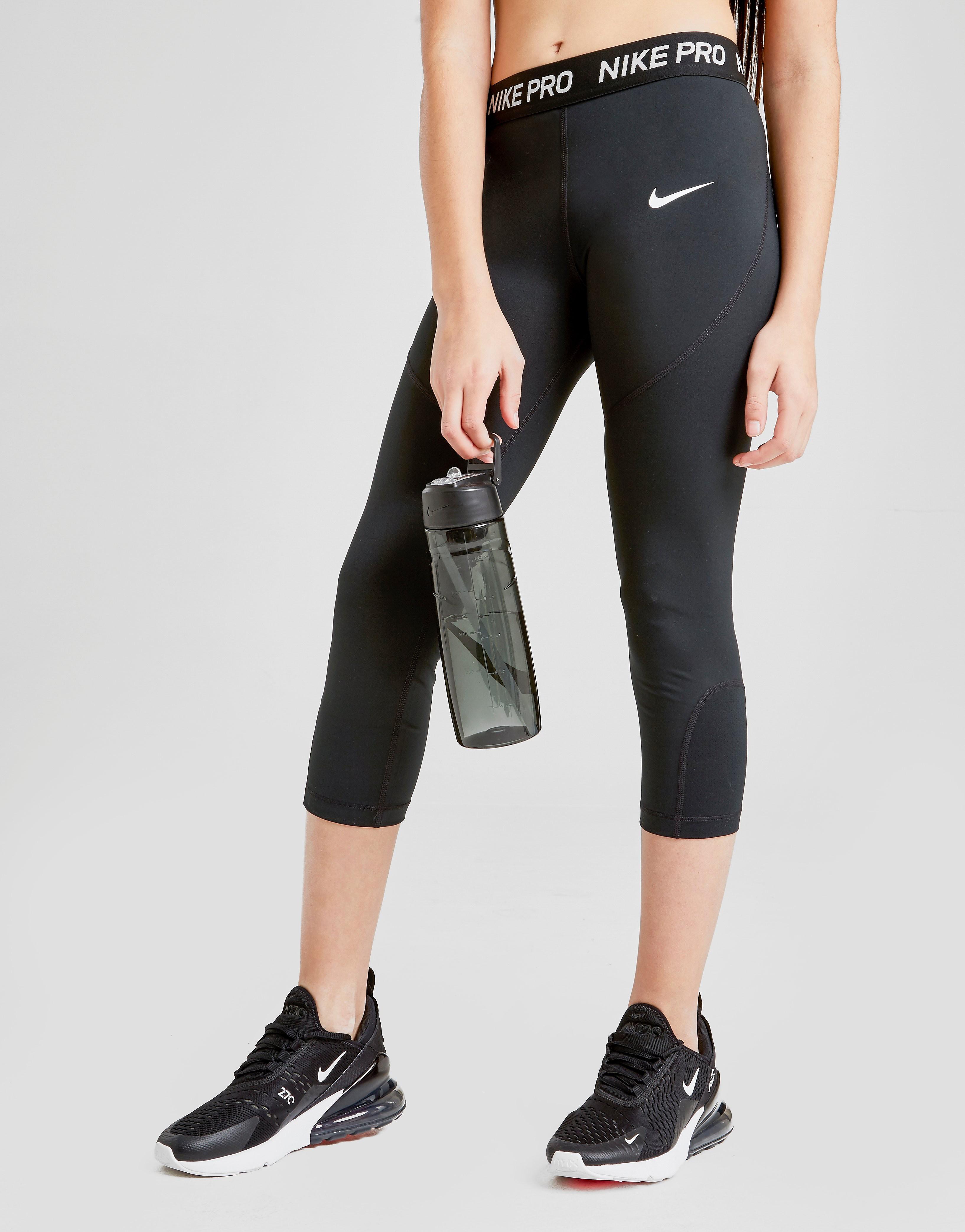 Nike Capri Leggins Kinder - Schwarz - Kids, Schwarz