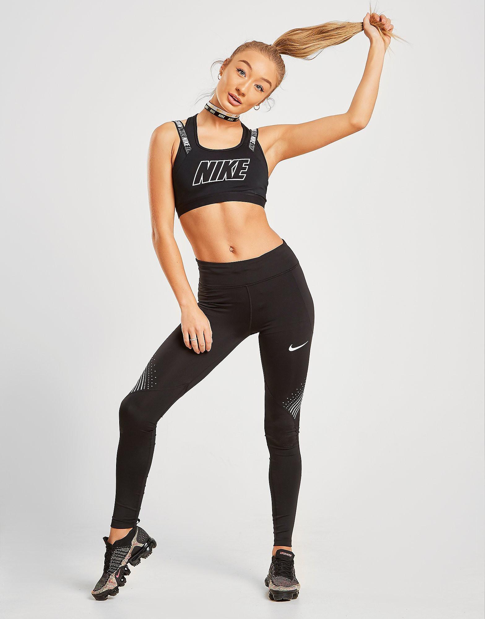 Nike Running Leggins Damen - Schwarz - Womens, Schwarz