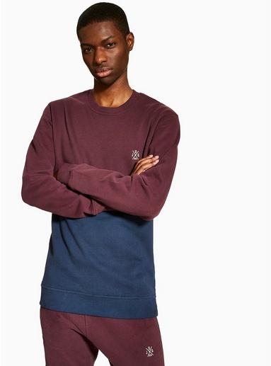 ROTJOG ON Sweatshirt mit Rundhalsausschnitt, ROT