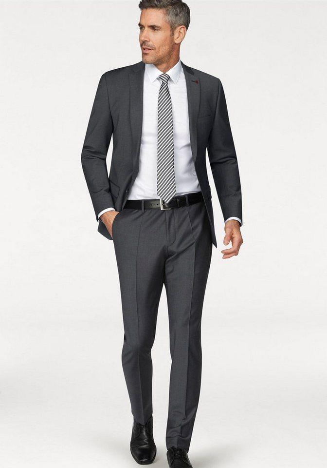 official photos fbbf0 df6a1 Roy Robson Anzug (2-tlg) Slim Fit- Form, elastische Qualität mit hohem  Schurwolle- Anteil