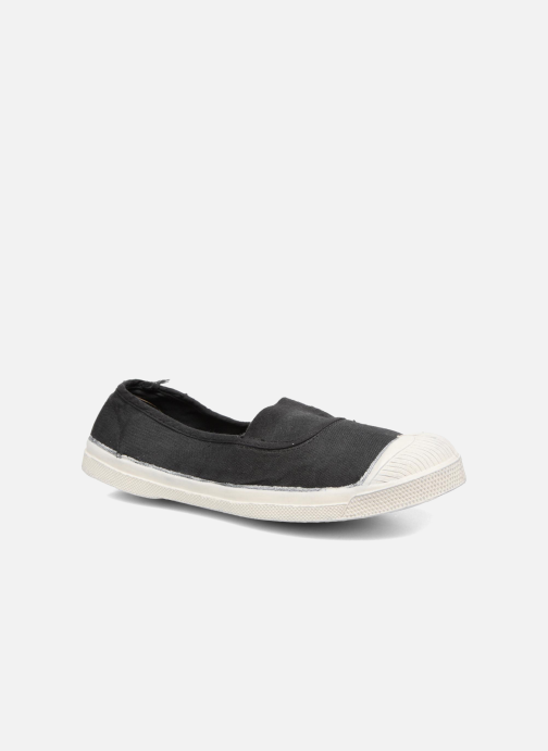 SALE -20 Bensimon - Tennis Elastique - SALE Ballerinas für Damen / schwarz