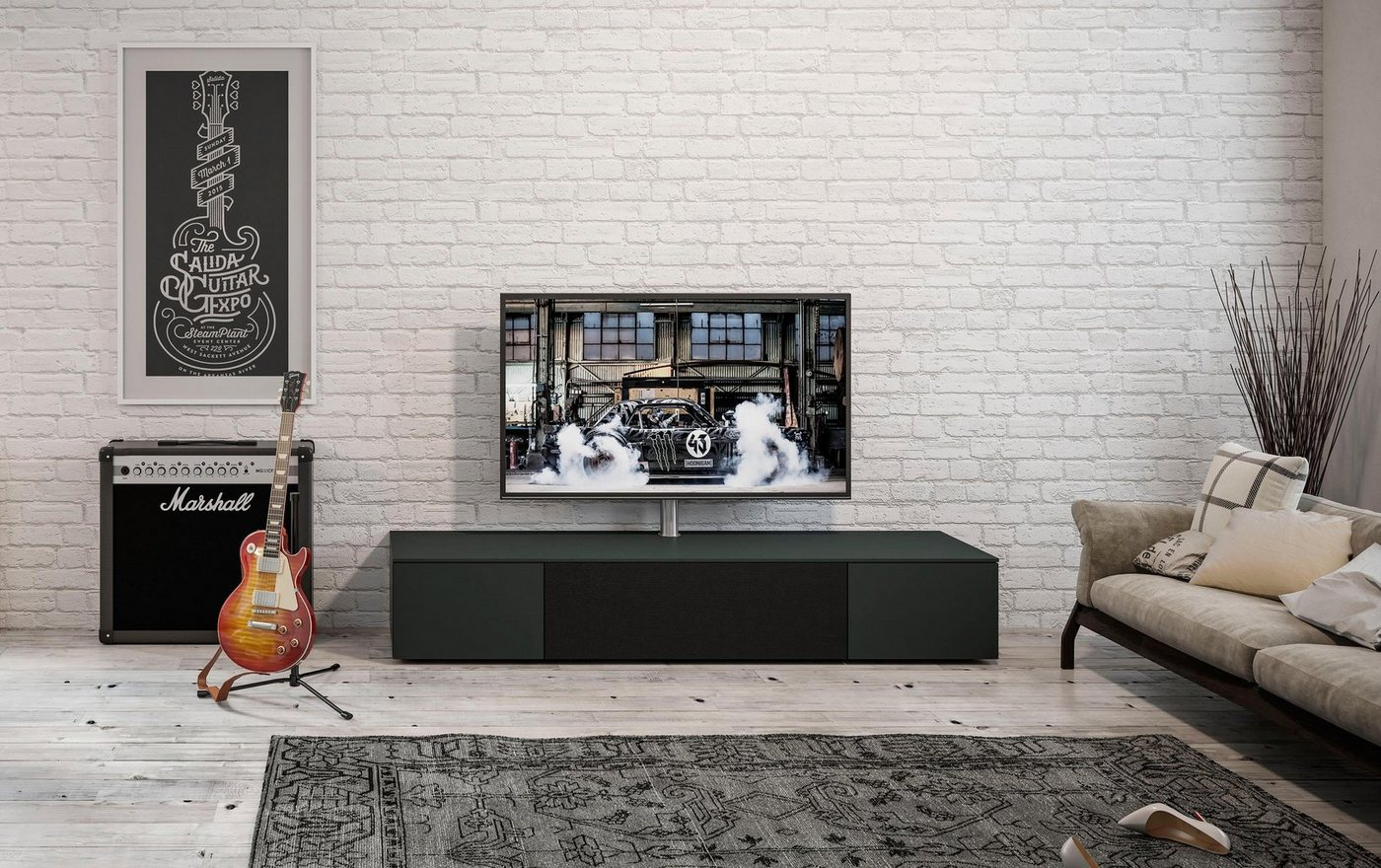 """SPECTRAL Sound-Lowboard """"Select"""" wahlweise mit TV-Halterung, Breite 200 cm"""