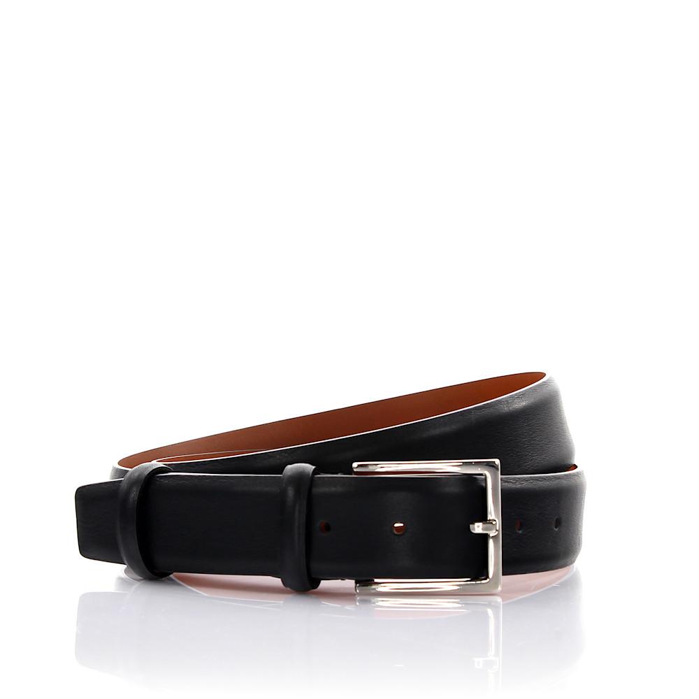 Santoni Herrengürtel Leder schwarz
