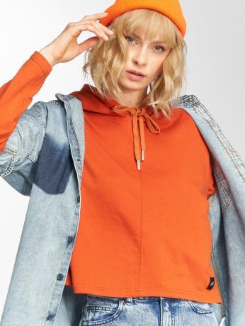 Sixth June Frauen Hoody Ultra Oversized in orange