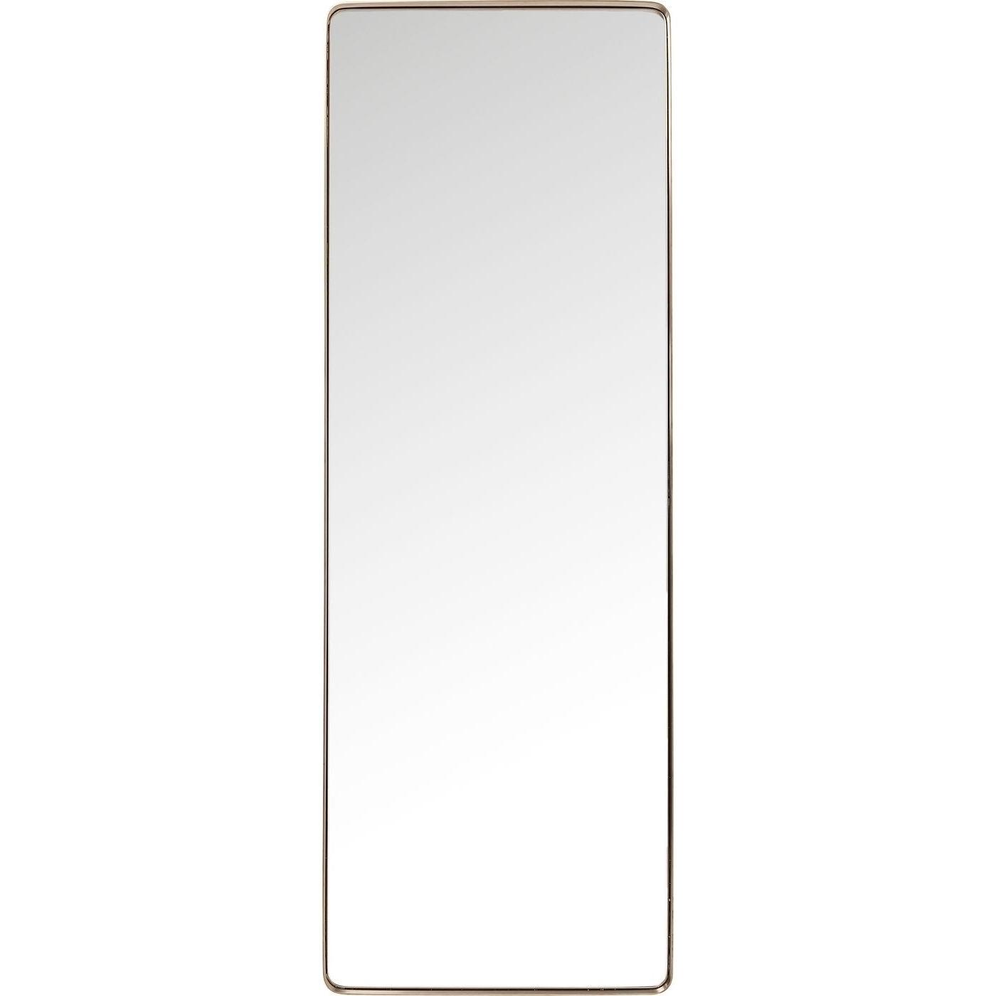 Spiegel Curve Rectangular Kupfer 200x70cm